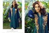 Embroidered Stitched Kameez Collection Resham Ghar 2016 3