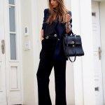 Flared Pants Office Outfits Women Should Wear In Winter