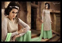 Formal Wear Long Party Wear Collection Nakkashi 2016 7