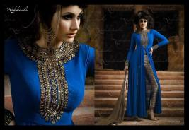 Formal Wear Long Party Wear Collection Nakkashi 2016 9
