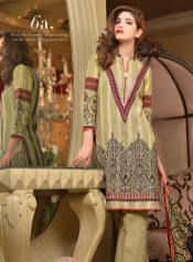 Khaddar Embroidered Winter Shawl Dresses Subhata Collection 2016 5