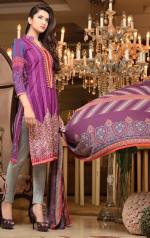 Khaddar Embroidered Winter Shawl Dresses Subhata Collection 2016 6