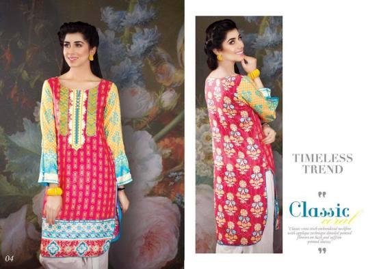 Khaddar Kurti Winter Collection SNM Designs 2016