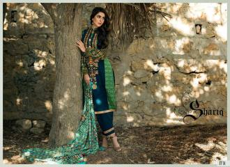 Khaddar Shawl Dress Collection Sabeen Pasha 2016