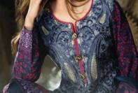 Khaddar Shawl Dress Collection Sabeen Pasha 2016