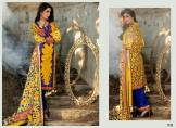 Khaddar Shawl Dress Collection Sabeen Pasha 2016 17