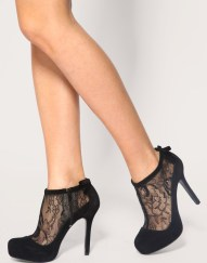 Lace High Heel Shoes To Wear On Parties 2