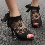 Lace High Heel Shoes To Wear On Parties 3