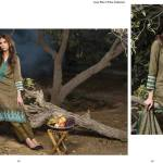 Linen Embroidered Dresses Orient Textile Collection 2016