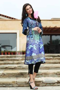 Linen Pret Kurtis New Year Catalog By Nishat Linen 2016 14