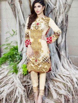 Luxury Pret Winter Traditional Wear Cross Stitch Collection 2016 7