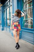 Patchwork Winter Outfits Women Should Try 3