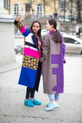 Patchwork Winter Outfits Women Should Try