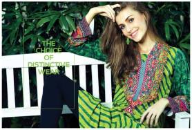 Ready To Wear Silk Embroidered Collection Resham Ghar 2016 3