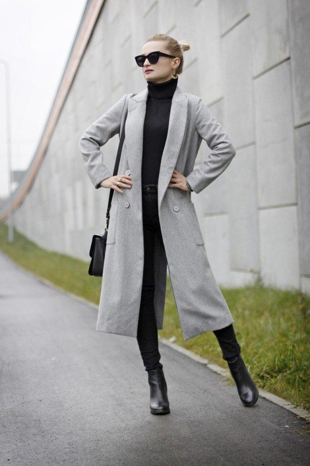 Stylish Winter Long Coats Every Women Should See 16