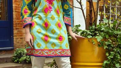 Two Piece Khaddar Pret Collection Nimsay Winter Wear 2015-16