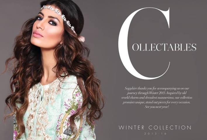 Sapphire winter collection