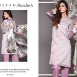 Unstitched Floral Print Dresses By Sapphire 2015-16 6