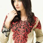 Valentine's Day Kurti Designs House Of Ittehad Collection 2016 2