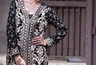 Velvet Embroidered Dresses Threadz-Motifs Collection 2016