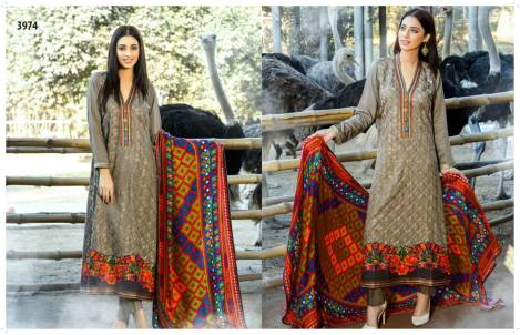 Viscose Shawl Dresses Tawakkal Fabrics Collection 2016 10