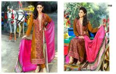 Viscose Shawl Dresses Tawakkal Fabrics Collection 2016 4