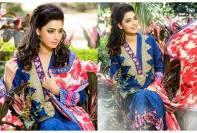 Viscose Shawl Dresses Tawakkal Fabrics Collection 2016