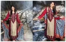 Viscose Shawl Dresses Tawakkal Fabrics Collection 2016 8