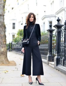 Women Velvet Dresses Winter Casual Street Style Looks 9