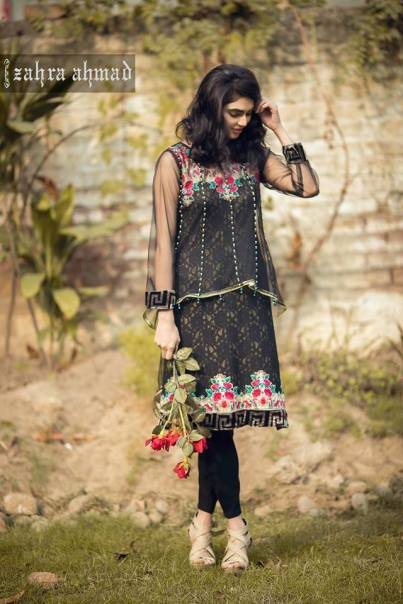 Zahra Ahmed party wear