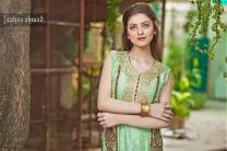 Zahra Ahmed Luxury Essence Collection Party Wear 2015-16