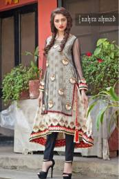 Zahra Ahmed Luxury Essence Collection Party Wear 2015-16 16