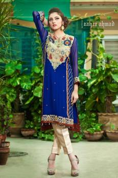 Zahra Ahmed Luxury Essence Collection Party Wear 2015-16 19