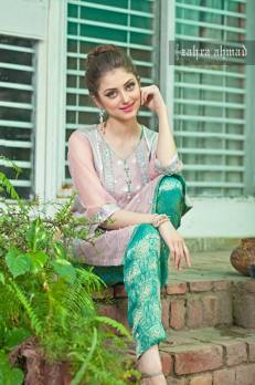 Zahra Ahmed Luxury Essence Collection Party Wear 2015-16 20