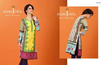Asim Jofa Summer Tunics Luxury Collection 2016 10