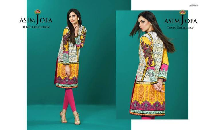 Asim Jofa Summer Tunics Luxury Collection