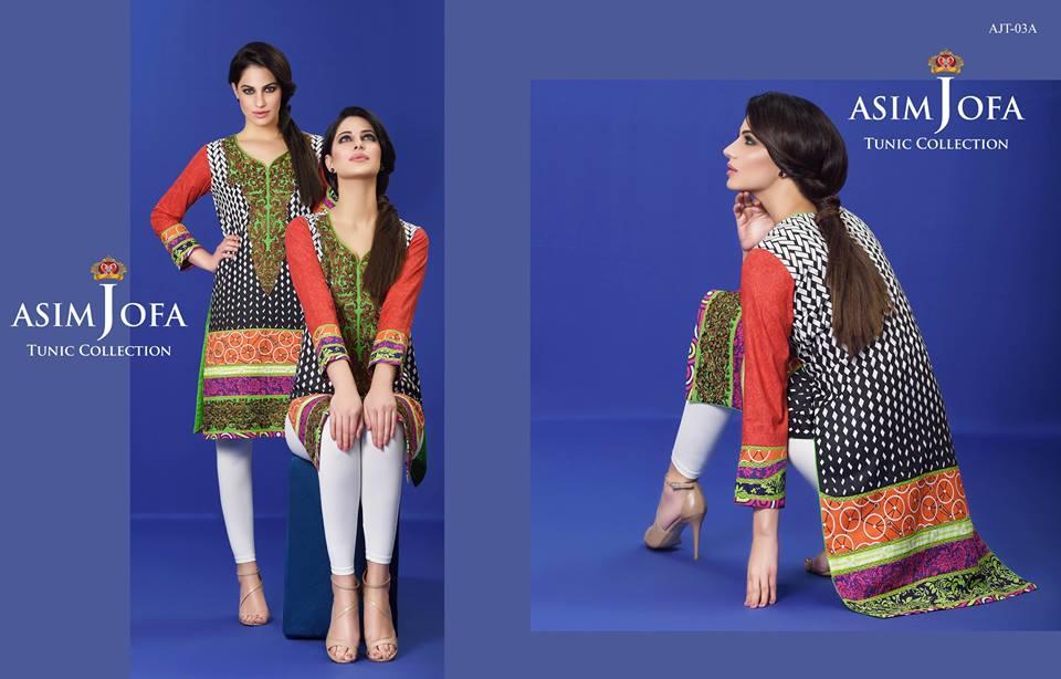 Asim Jofa Summer Tunics Luxury Collection