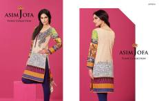 Asim Jofa Summer Tunics Luxury Collection 2016 19