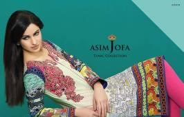 Asim Jofa Summer Tunics Luxury Collection 2016 7