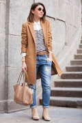 Beige Coat Styles Women Should Try In Cold Days 10