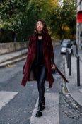 Burgundy Coat Designs Women Should Try This Season 3