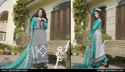 Cambric Embroidered Spring Collection Rujhan Fabrics 2016 22