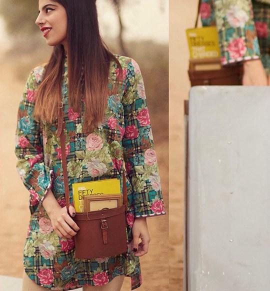 Spring casual kurti by Zara Shah Jahan