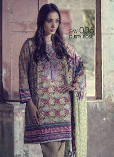 Fancy Embroidered Party Wear Gulaal Collection 2016 7