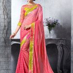 Georgette Silk Saree Collection Natasha Couture 2016 4