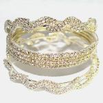 Gold Diamond Bangles Jewelry