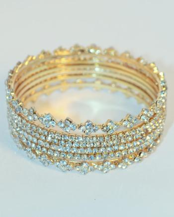 Gold Diamond Bangles Jewelry For Young Girls 2016 7