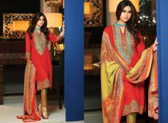 Mahnoor Embroidered Dresses Al Zohaib 2016 11
