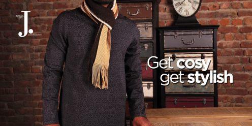 Men Scarves Designs J