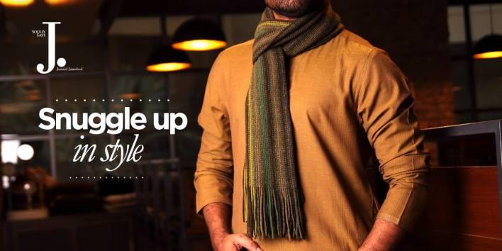 Men scarves by J.